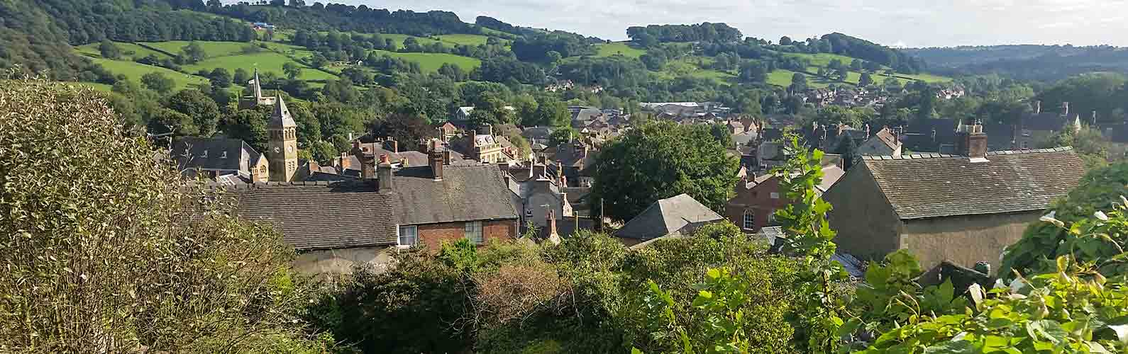 View across Wirksworth