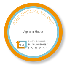Agricola Winner of Small Business Sunday